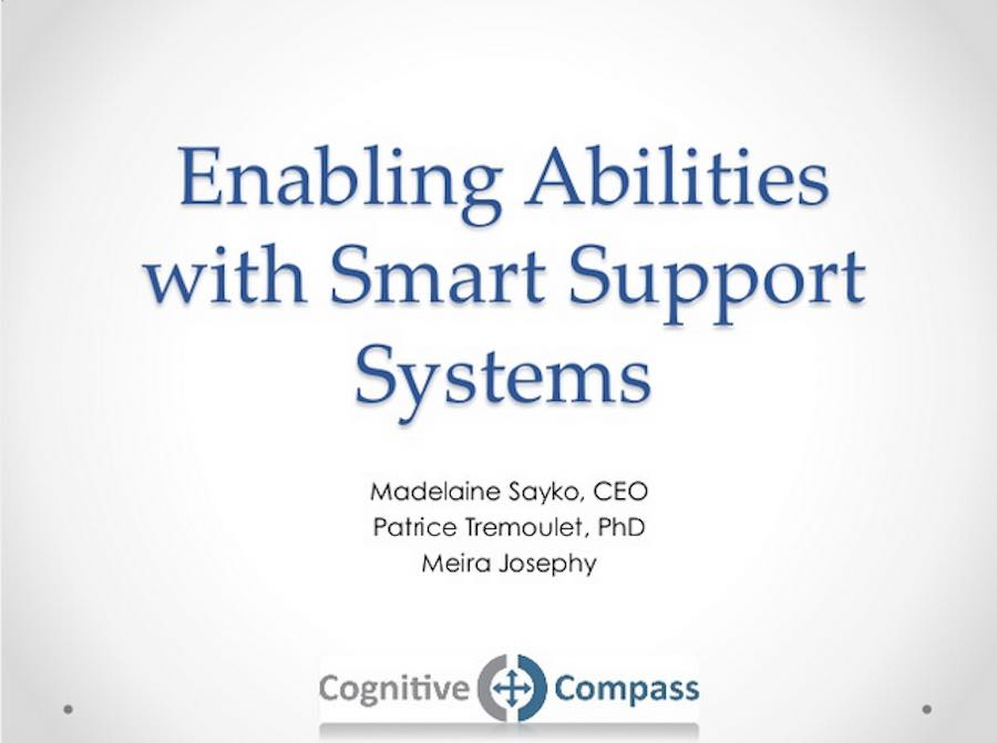 Enabling Abilities With Smart Systems Screen Capture